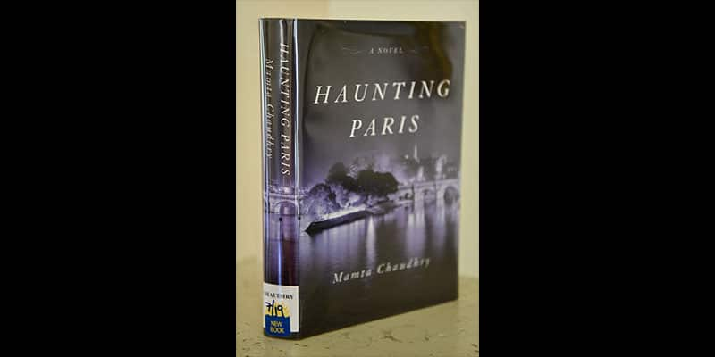 Haunting Paris library book